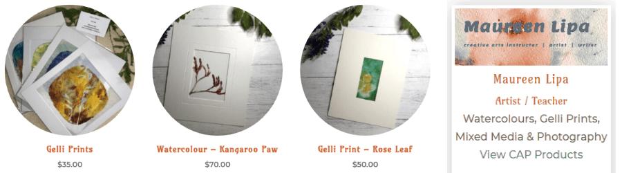 Inaugural Gifter Artisan – Maureen Lipa